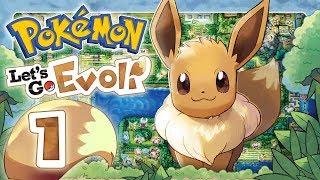 POKEMON LET'S GO EEVEE 🌏 #1: Dominas & Eevees kanto adventure in HD!