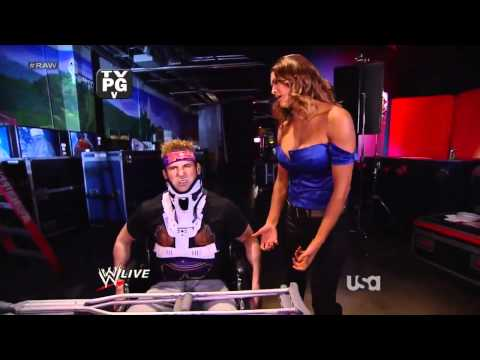WWE Raw 13/02/12 - Eve Torres, Kane, John Cena  and  Zack Ryder Segment