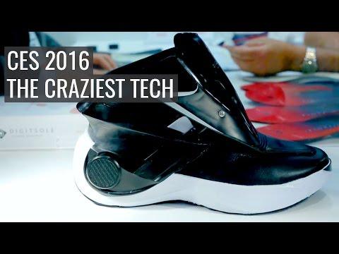 CES 2016: The Craziest Tech