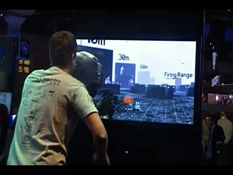 Ghost Recon Future Soldier Gunsmith Kinect E3 Demo