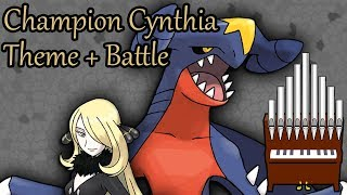 Champion Cynthia Theme + Battle Organ Cover