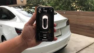 Tesla Model 3 Summon Set-up and Demonstration