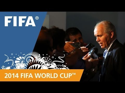 Argentina's Alejandro SABELLA Final Draw reaction (Spanish)