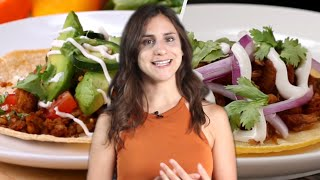 Meatless Tacos 5 Ways With Rachel • Tasty