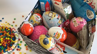 Surprise Toys Collection Box Opening | PJ Masks Fireman Sam Minions Kinder Joy Eggs & Nursery Rhymes