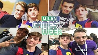 MILAN GAMES WEEK 2016 | ft. Marks View, Blackgeek, Simone Russo e Appleaker