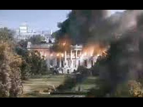 White House Blown Up in