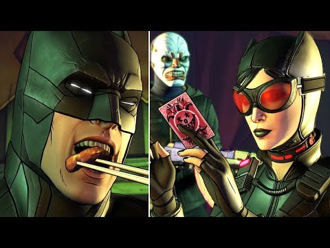 Batman Humiliated by Joker and Harley During the Dinner Party - Batman The Enemy Within Ep5 FanMade