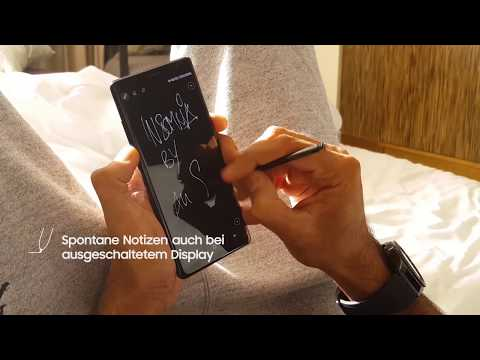 Die Galaxy Note8 Features im Ali As Musikvideodreh