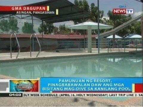 BP: Lalaki sa Pangasinan, patay matapos mabagok ang ulo nang mag-dive sa swimming pool