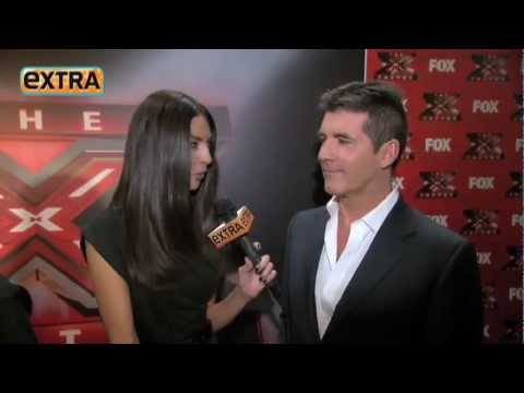 Terri Seymour interviews Simon after the result show..flv