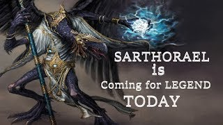 Warhammer 2 Archaon Warriors of Chaos (SFO) Livestream - Sarthorael End Game