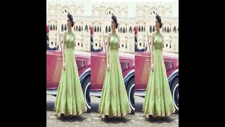 Indo western dresses for women image / Photo