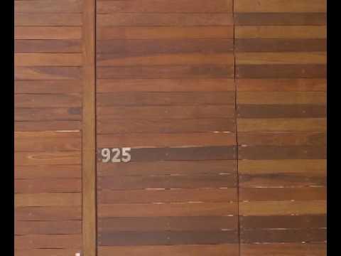 Pisos de madera para exteriores youtube - Maderas sinteticas para exteriores ...
