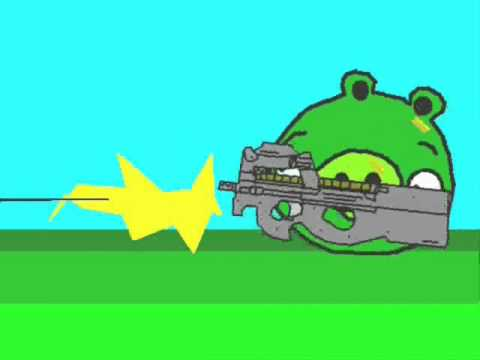 Angry Birds animated parody (ORIGINAL)