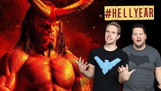 WHAT THE HELL was that new HELLBOY movie? (#HELLYEAR)
