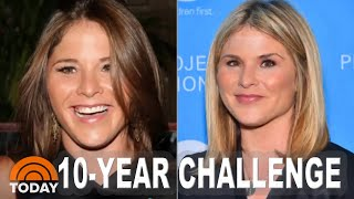 Jenna Bush Hager Takes On The Viral 10-Year Challenge | TODAY