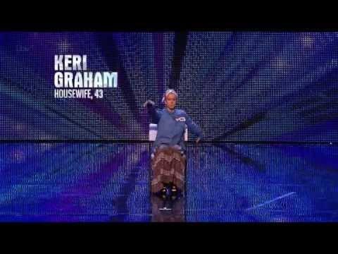 (Napisy)Brytyjski Mam Talent 7 - Keri Graham