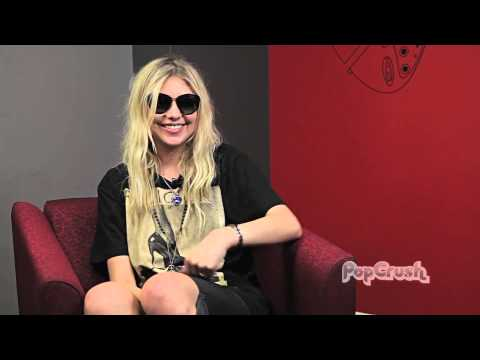 The Pretty Reckless' Taylor Momsen Talks Fan Tats + Lessons Learned on the Road