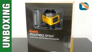 Kodak PIXPRO SP360 Action Camera Unboxing & First Impressions in 4K