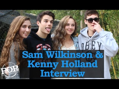Sam Wilkinson and Kenny Holland
