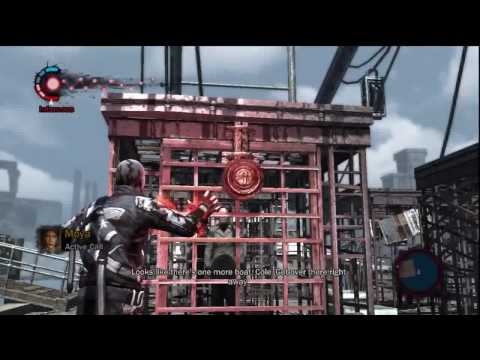inFamous Gameplay 24 Mission: Standard Protocol 2/2 [HD]