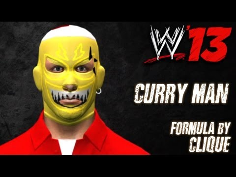 WWE '13 Curry Man CAW Formula By Clique & dest07