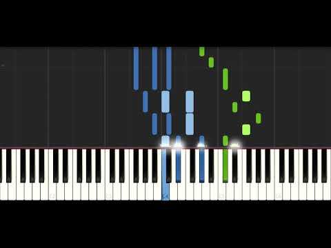 Alan Walker - All Falls Down (feat. Noah Cyrus with Digital Farm Animals) - PIANO TUTORIAL