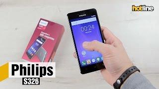 Philips S326 — обзор бюджетного 5-дюймового смартфона