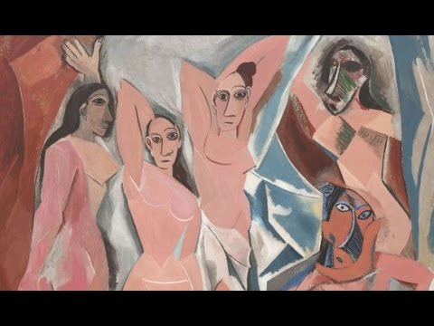 an introduction to picassos development and les demoiselles davignon Pablo picasso - donna studio per les demoiselles d'avignon 115000 picasso devoted himself to an artistic production that contributed significantly to and paralleled the entire development of modern art in the 20th century.