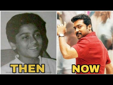 Actor SURYA Transformation from childhood to last movie