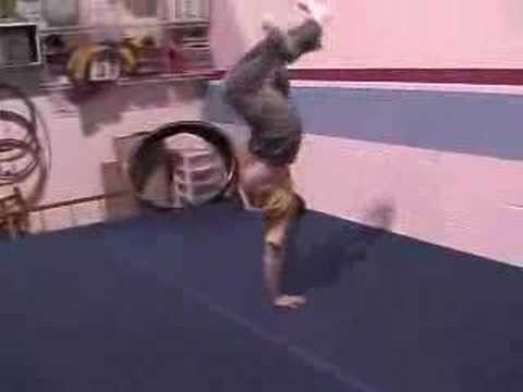 Extreme Martial Arts Flip Video