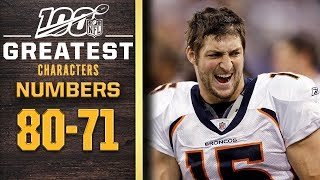 100 Greatest Characters: Numbers 80-71 | NFL 100