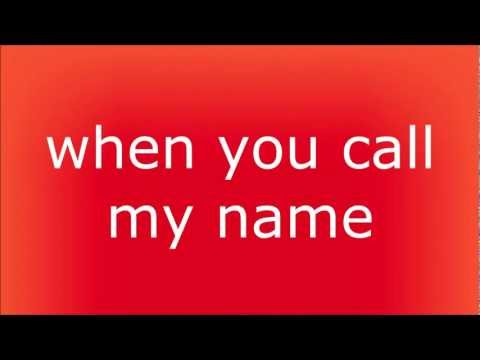 Cheryl Cole - Call My Name Lyrics video