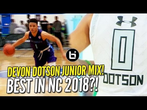 Is Devon Dotson the #HoopState's Next Best Guard?! Junior Year Mixtape