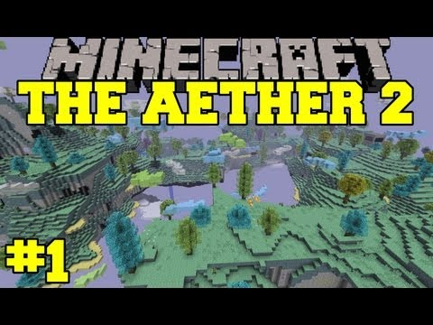 Minecraft: Aether 2 Let's Play - Episode 1 - A Mythical Land
