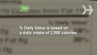 How to Follow a Healthy Diet by Reading Nutrition Labels