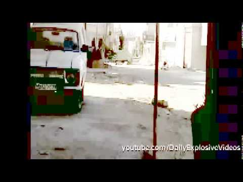 Syrian Army T 55   T 72 Tanks Run on FSA Bomb   Syria