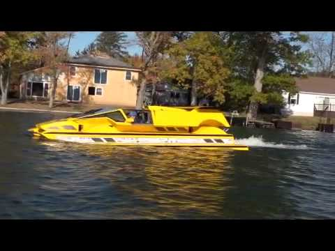 Dobbertin HydroCar - Water Test 1 - Amphibious Vehicle