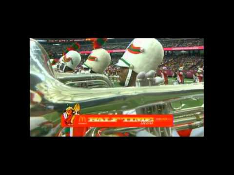 Florida A&M Marching Band in Atlanta 2011