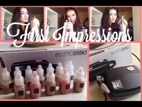 First Impressions: Belletto Studio Airbrush Makeup System