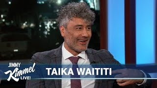 Taika Waititi on Jojo Rabbit, New Thor Movie & Sleeping at Work