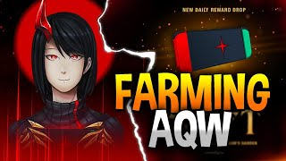 Farming for the New Not* Nintendo Switch (Drop) in AQW!