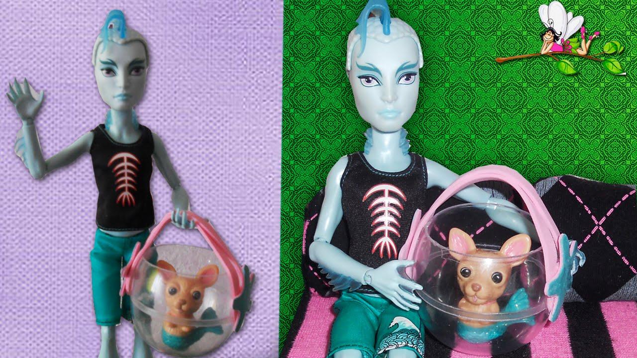 Как сделать домашнего питомца для куклы своими руками