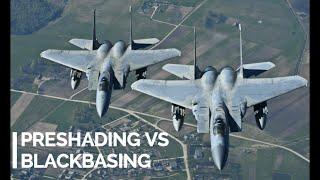 Preshading vs Black Basing