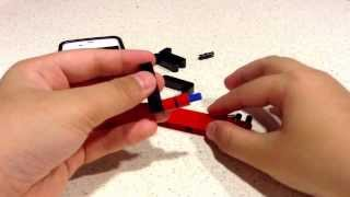 How to build a Lego stand for iPhone 4/4S