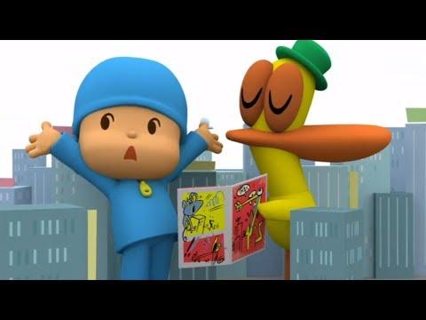 Мультики - Покойо на русском - Все серии подряд - Новый сезон - Сборник мультфильмов для детей