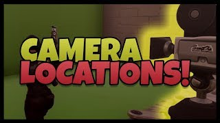 "Fortnite: Film / Movie Camera Locations ""Dance In Front Of Different Film Cameras"""