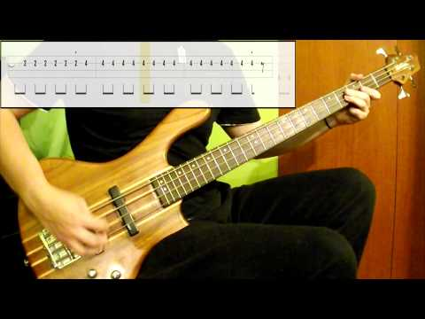 Thin Lizzy - The Boys Are Back In Town (Bass Cover) (Play Along Tabs In Video)