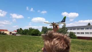 Mini nerozbitné lietadlo dolphin EPP(Tom & minonka)